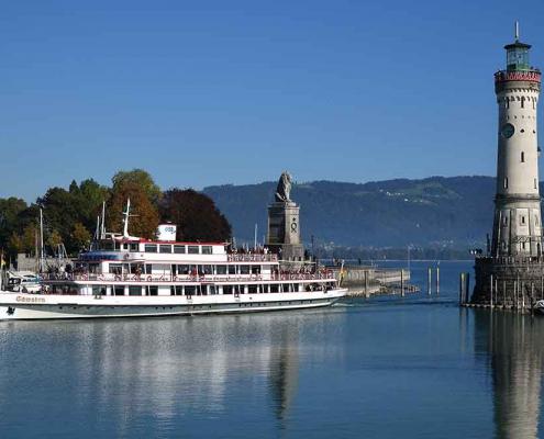 Bodensee Schifffahrt Lindau Westallgäu