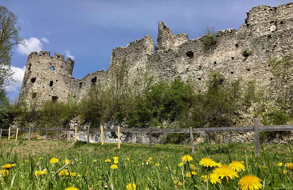 Ausflugsziele Ostallgäu Burg Hohenfreyberg