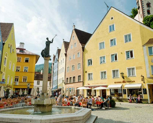 Füssen Altstadt Ostallgäu Schloss