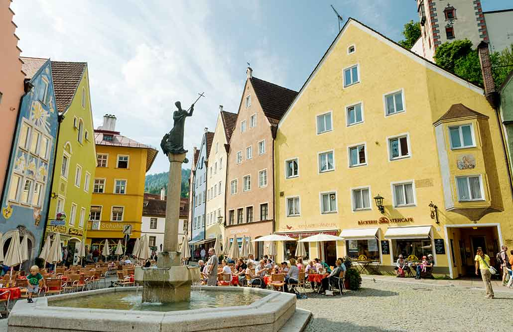 Ausflugsziele Ostallgäu Füssen Altstadt