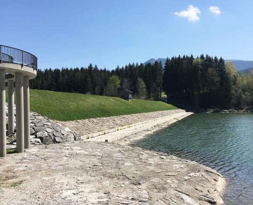 Staudamm Grüntensee