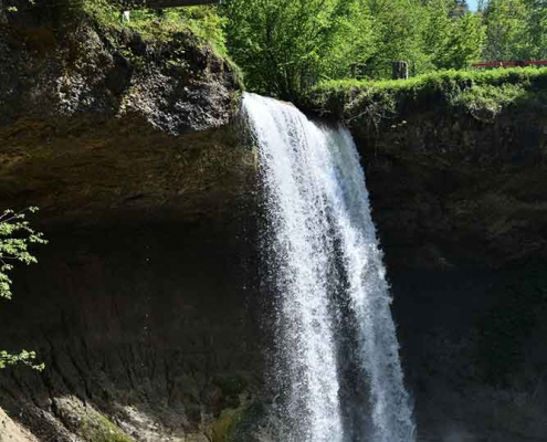 Scheidegger Wasserfälle bei Scheidegg nahe dem Westallgäu