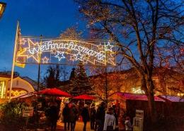 Weihnachtsmarkt in Bad Wörishofen im Unterallgäu