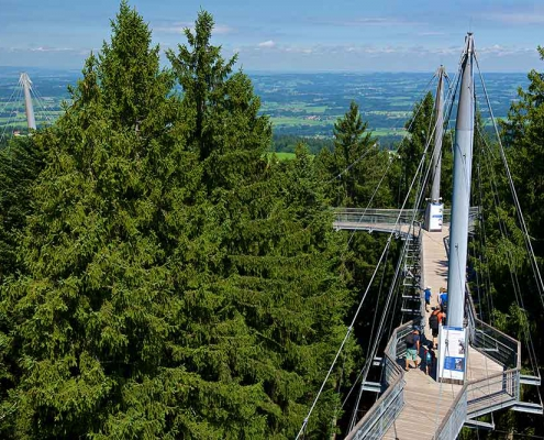 Skywalk Allgäu bei Scheidegg Westallgäu