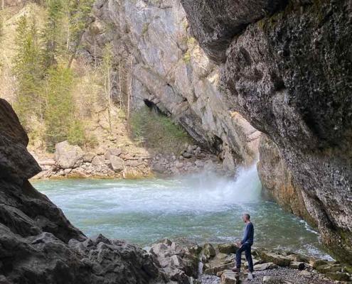 Wanderung zu den Buchenegger Wasserfällen im Allgäu