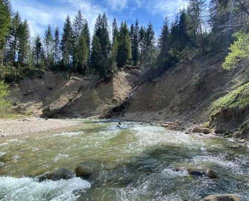 Zulauf Buchenegger Wasserfälle