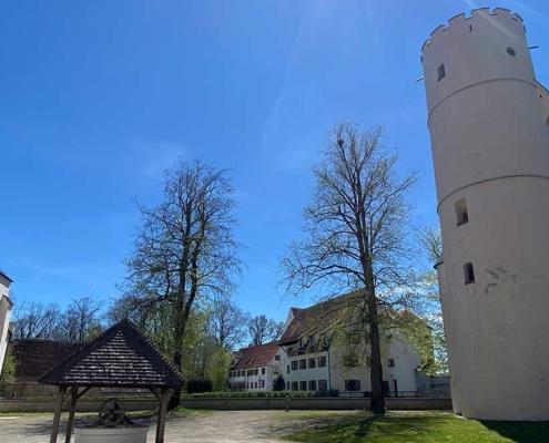 Schloss Mindelburg Mindelheim im Unterallgäu nahe Memmingen