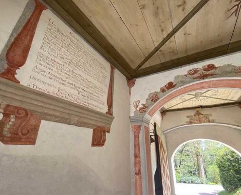 Schloss Kronburg im Unterallgäu bei Memmingen