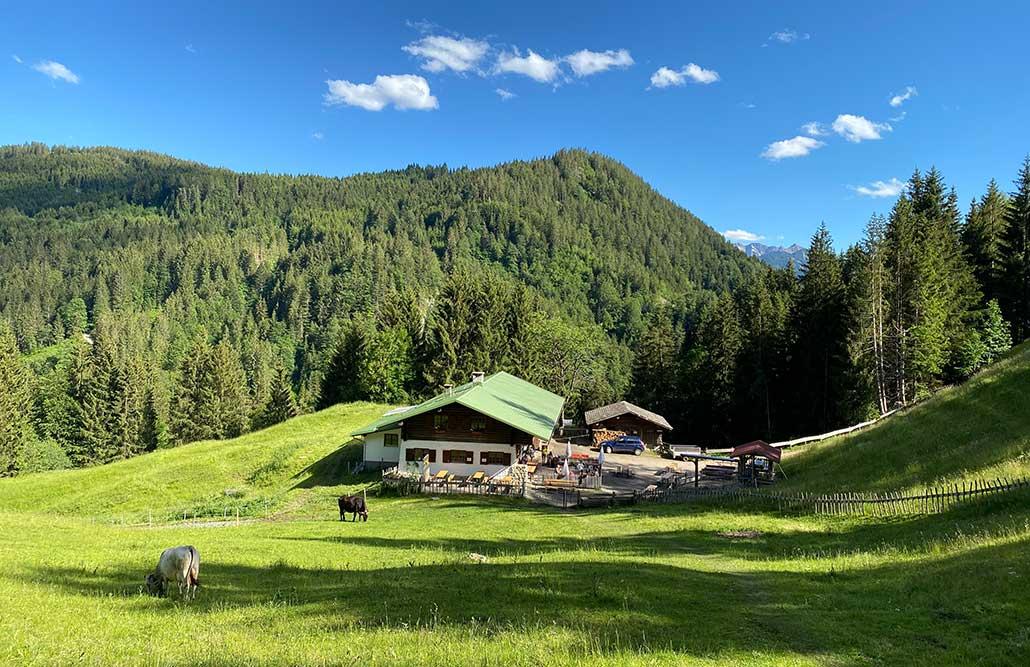 Alpe an der Starzlachklamm