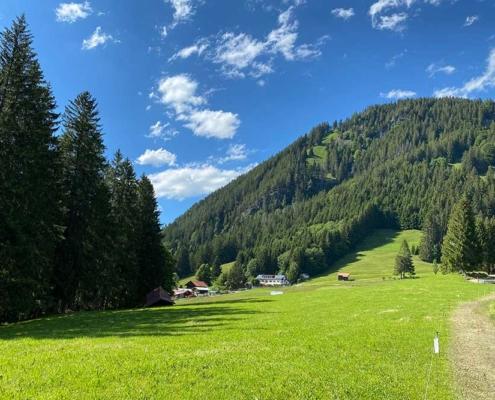 Starzlachklamm Allgäu bei Burgberg und Sonthofen im Oberallgäu
