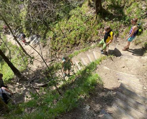 Wanderung zu den Buchenegger Wasserfällen