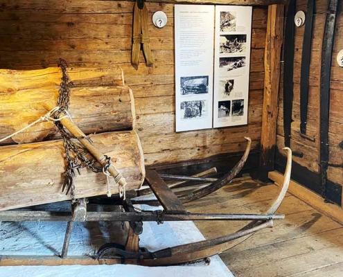 Bergbauernmuseum Diepolz im Allgäu bei Immenstadt Holzerhütte