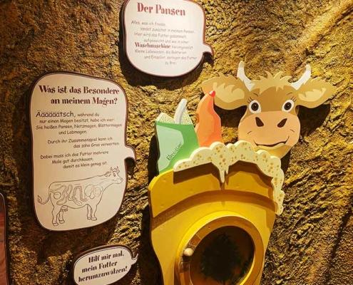 Bergbauernmuseum Diepolz im Allgäu bei Immenstadt Kuhmagen