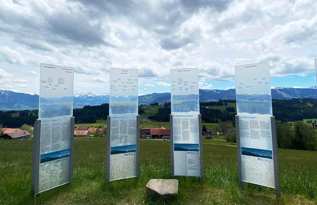 Bergbauernmuseum Diepolz im Allgäu bei Immenstadt Pamorama