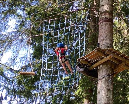 Kletterwald für Kinder im Allgäu