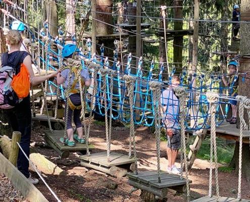 Kletterwald Oberallgäu Klettergarten für Kinder Allgäu