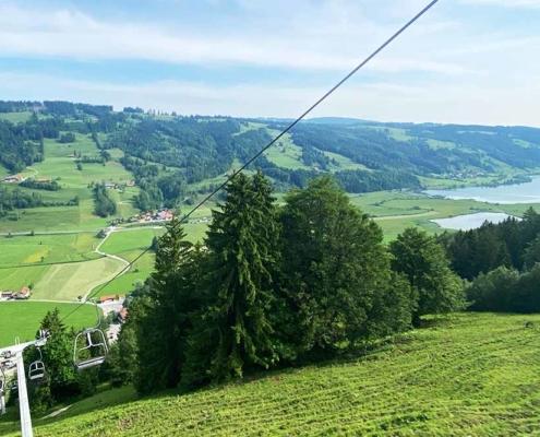 Bergbahn Alpsee Bergwelt Immenstadt