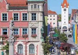 Sehenswürdigkeiten Allgäu Stadtrundgang Mindelheim im Unterallgäu