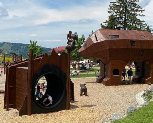Abenteuerspielplatz Allgäu Bärenfalle