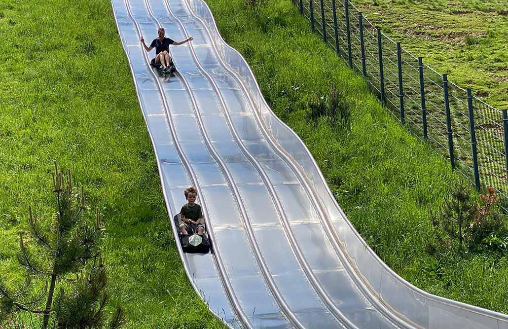 Ausflugsziele Allgäu Abenteuerspielplatz Allgäu Riesenrutsche