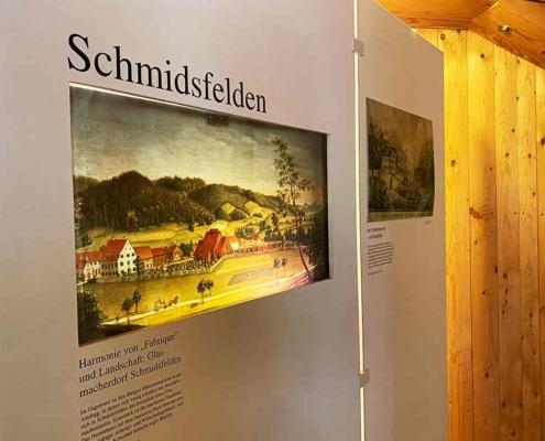 Schmidsfelden Glasbläserdorf Museum