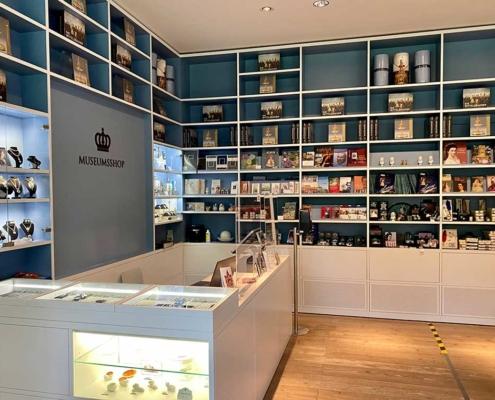 Museum der bayerischen Könige in Schwangau bei Füssen im Allgäu Shop
