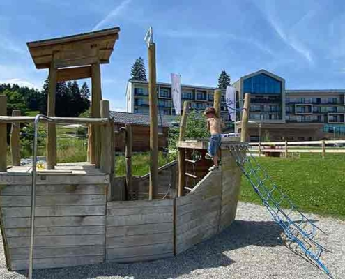 Spielplatz Kurhaus Scheidegg