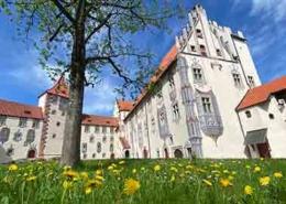 Ausflugsziele Füssen Ostallgäu Hohes Schloss