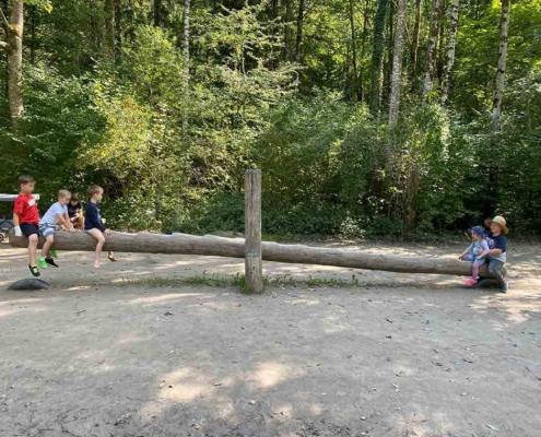 Auwaldpfad Füssen Spielplatz
