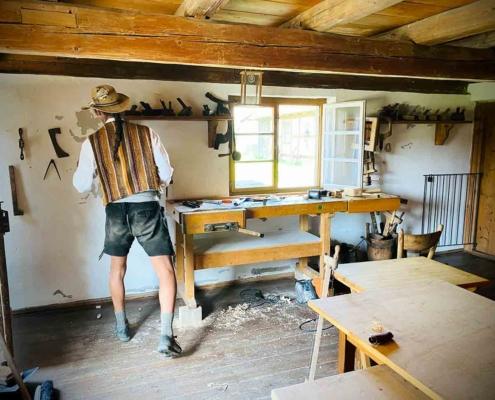 Schwäbisches Bauernhofmuseum Illerbeuren Handwerk