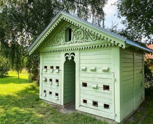 Schwäbisches Bauernhofmuseum Illerbeuren Bienenstock