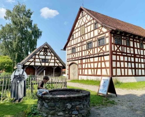 Schwäbisches Bauernhofmuseum Illerbeuren Brunnen