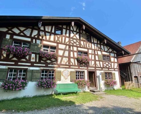 Schwäbisches Bauernhofmuseum Illerbeuren Fachwerkhaus