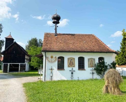 Schwäbisches Bauernhofmuseum Illerbeuren Kapelle