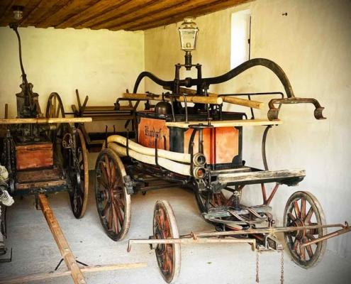Schwäbisches Bauernhofmuseum Illerbeuren Löschwagen