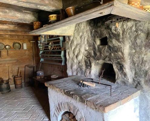 Schwäbisches Bauernhofmuseum Illerbeuren Ofen