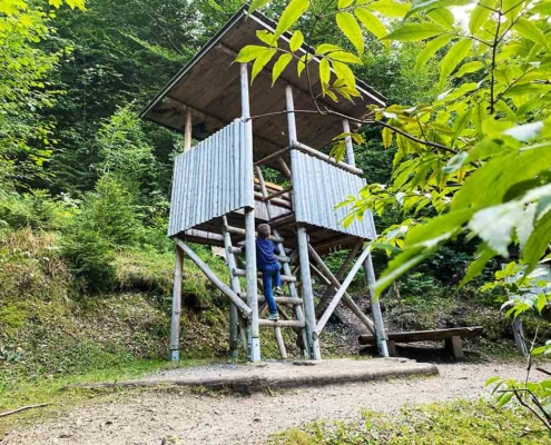 Bergwaldpfad Füssen Hochsitz