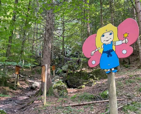 Bergwaldpfad Füssen Waldfee