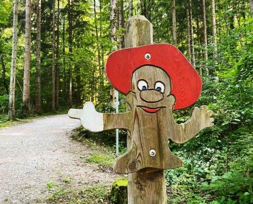 Bergwaldpfad Füssen Wichtel