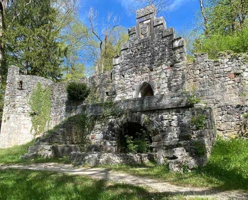 Ruinen Hohes Schloss Füssen