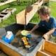 Buron Kinderpark Wasserspielplatz Wertach