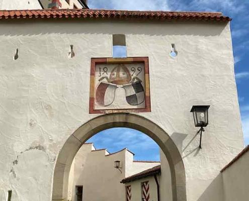 Hohes Schloss Füssen Eingang