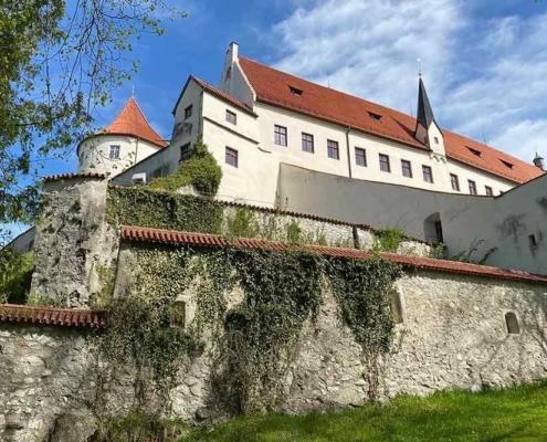 Hohes Schloss Füssen Burgmauer
