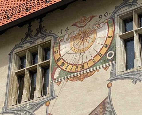 Hohes Schloss Füssen Sonnenuhr