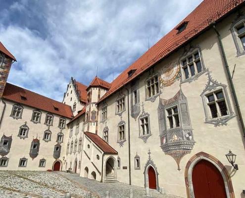 Hohes Schloss Füssen Illusionsmalereien