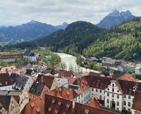 Hohes Schloss Füssen Lech