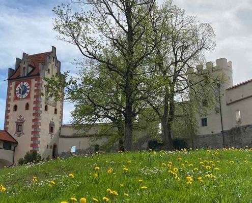 Hohes Schloss Füssen Innenhof