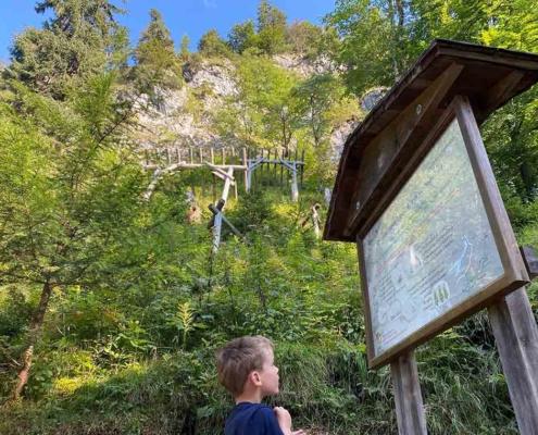 Schneeschutz Bergwaldpfad Füssen
