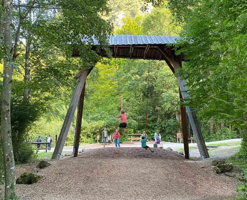 Spielplatz Füssen Bergwald