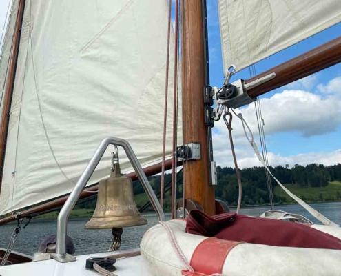 Alpsee Segelschiff